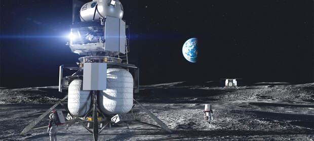 SpaceX выиграла контракт NASA по созданию лунного посадочного модуля