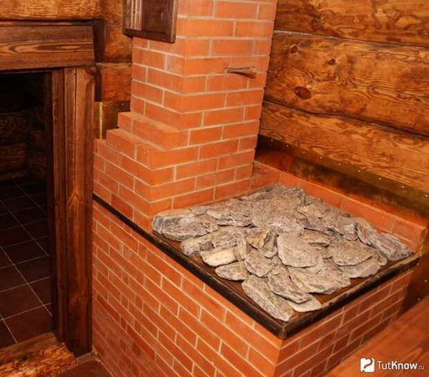Кирпичная печь для бани собственными руками