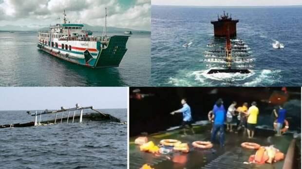 У берегов Бали затонул паром. Спасатели ищут выживших