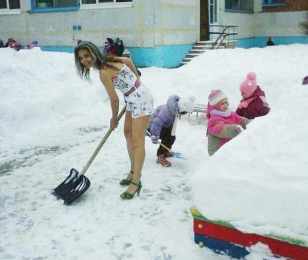 галина, снегурочка, тольятти, зима