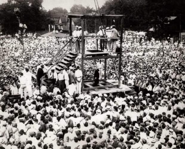 Последняя публичная казнь в США 14 августа 1936г. история, события, фото