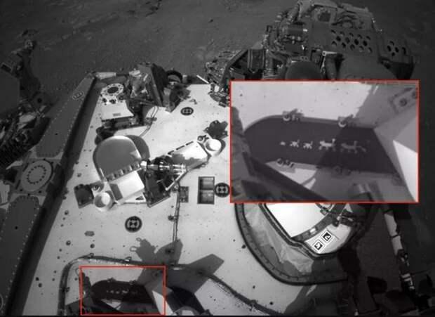 В куполе парашюта марсохода NASA обнаружили скрытое Марс, Космос, NASA, Perseverance, Длиннопост