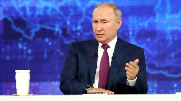 «Пусть слушают музыку Чайковского». Путин прокомментировал отсутствие гимна России на Олимпиаде