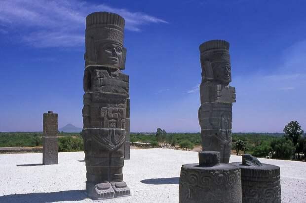 Древняя столица тольтеков - Тула