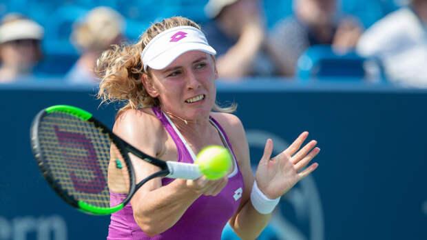 Александрова прокомментировала победу над Стосур на старте US Open