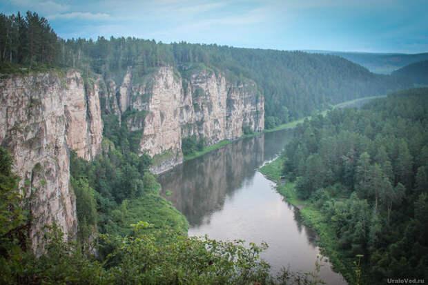Большие Притёсы - визитная карточка реки Ай