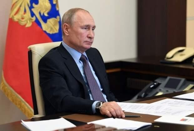 Владимир Путин поручил создать Национальную базу генетической информации