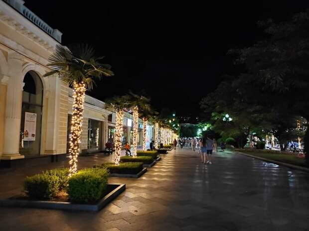 Ялта вошла в ТОП городов с самыми красивыми улицами для вечерних прогулок