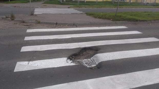 Типичный подход к работе асфальт, благоустройство, и так сойдет, и так сойдёт, тротуар