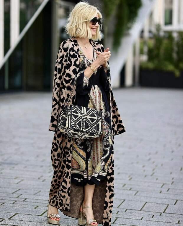Анималистичные принты в модной одежде сезона 2021
