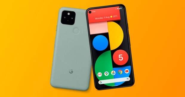 5 технических новинок от Google: смартфоны с поддержкой 5G и умная колонка