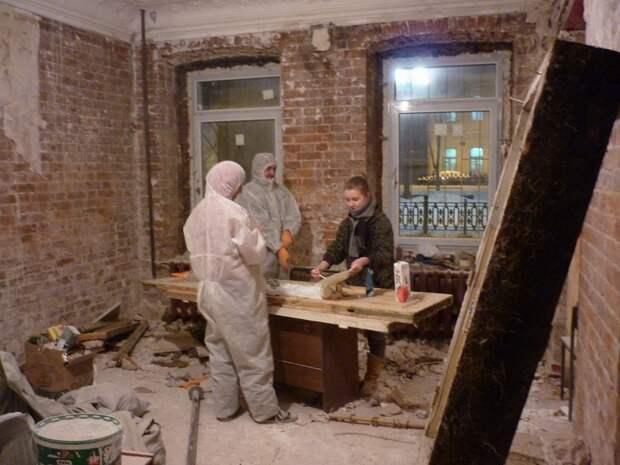 Бюджетный лофт в сталинском доме