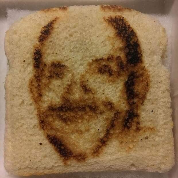 """20. """"У моего папы есть тостер, который """"печатает"""" его лицо на хлебе"""" забавно, отцы, папы, подборка, приколы, смешно, фото, юмор"""