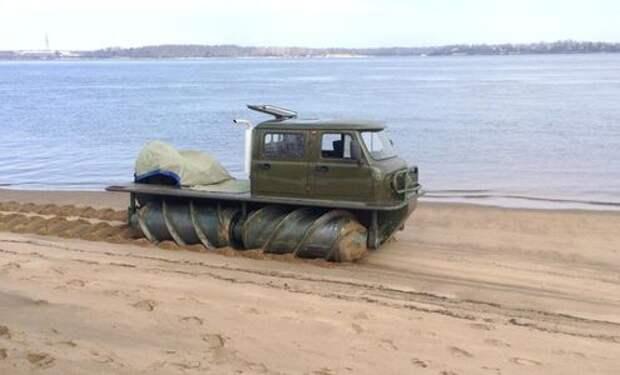 Неведома зверушка: в России вновь начали делать шнекоходы