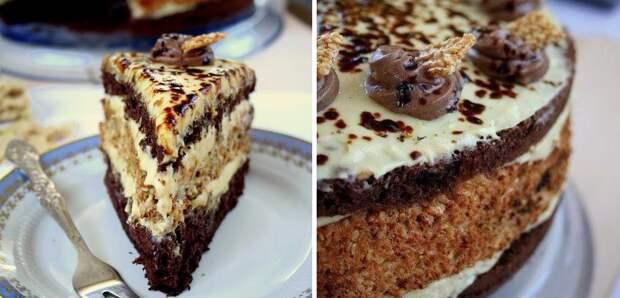 Невероятно аппетитная сладость: торт «Халва»