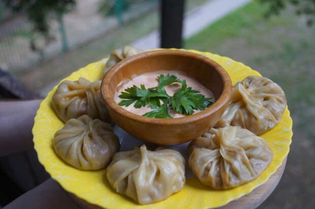Момо - Непальские пельмени на пару с грибами. Приготовление, Рецепт, Момо, Непальские пельмени, Пельмени на пару, Азиатская кухня, Вегетарианство, Видео, Длиннопост