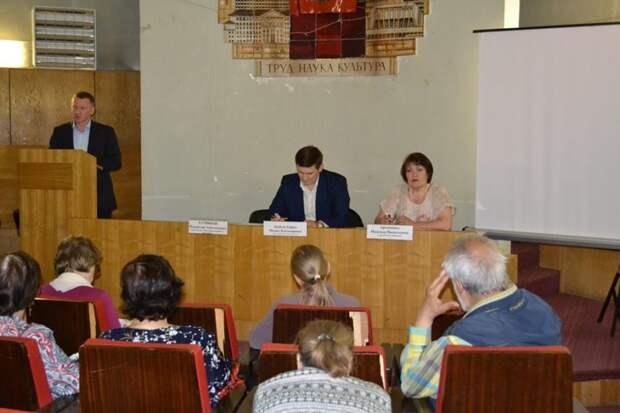 Встреча с населением. Фото: открытый источник