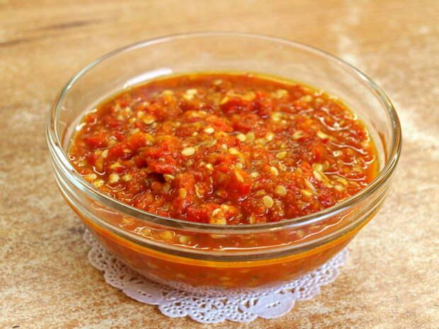 Утилизация горького перца - видео рецепт