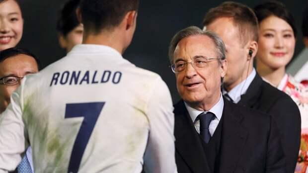 Роналду провел встречу с президентом «Реала» Пересом