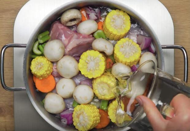 Куриный суп: 4 разных вкуса из одного бульона