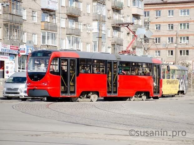 В Ижевске 22 августа закроют движение трамваев от магазина «Океан» до Металлурга