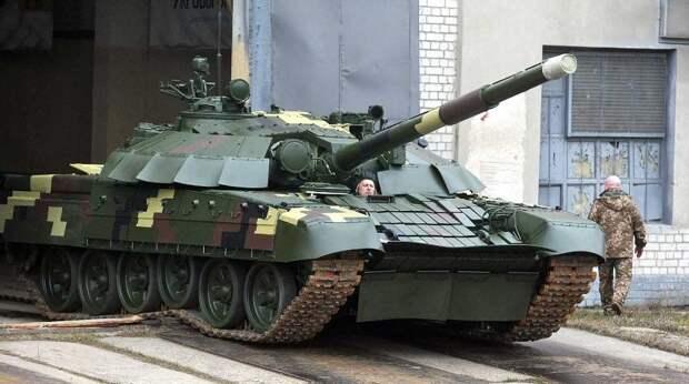 Австрийские журналисты выдали украинские танки за российские