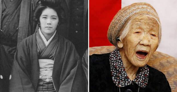 Древняя японка подсказывает, как можно прожить столетие без полноты и старения