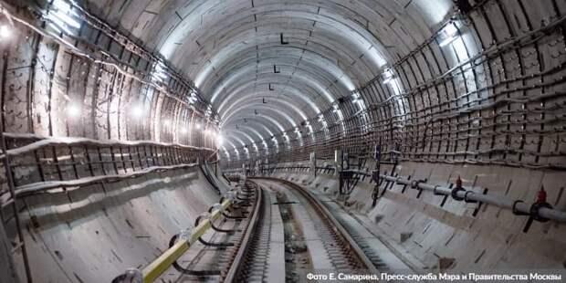 Собянин: В ближайшие годы в Обручевском районе откроют четыре станции метро. Фото: Е.Самарин. mos.ru