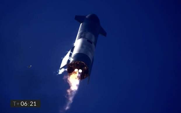 В Техасе при посадке взорвался прототип SpaceX SN-9 Starship