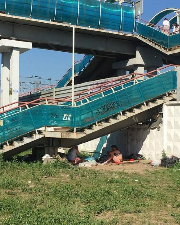 Нужно ли ограждать подмостовое пространство в районе ж/д платформы «Лосинка»? – новый опрос жителей района
