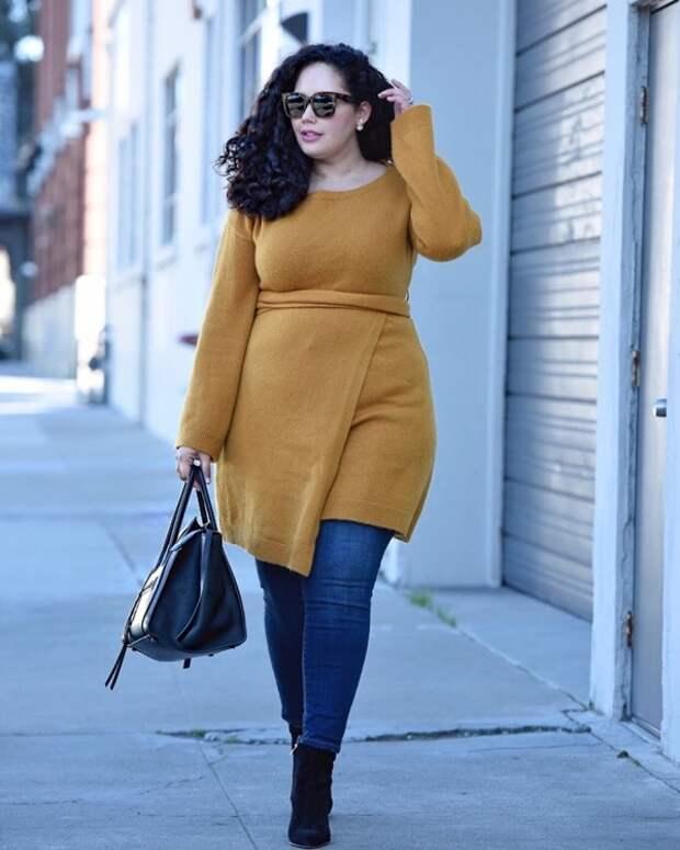 Как не надо одеваться полным женщинам: советы стилистов