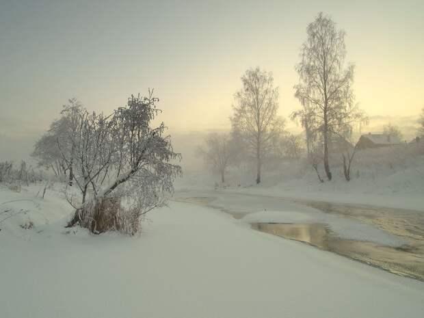 ФОТОСЕССИЯ. Максим Евдокимов: зимние пейзажи
