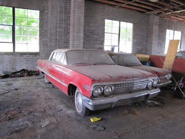 Сокровища забытых гаражей