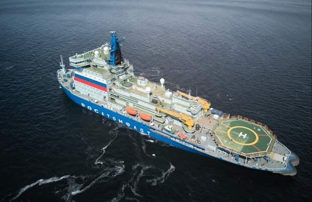 «Арктика» держит курс на Мурманск