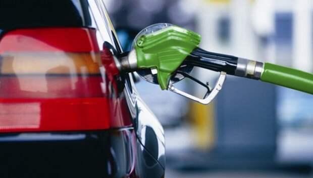 Бензин заправка США