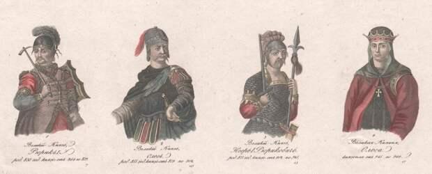 Две Руси — две династии