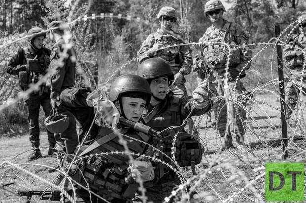 Инструкторы из США тренируют украинских артиллеристов у границ ЛНР