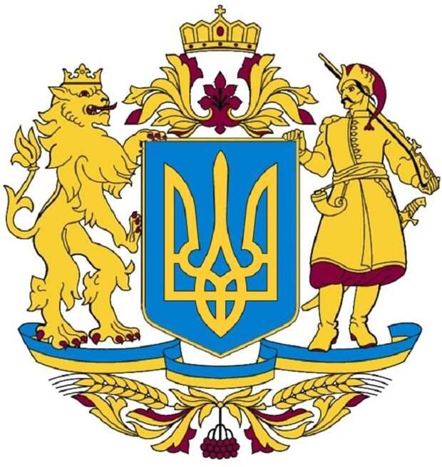 Ангел вгольфах илевс«хозяйством»: наУкраине спорят надэскизом нового герба