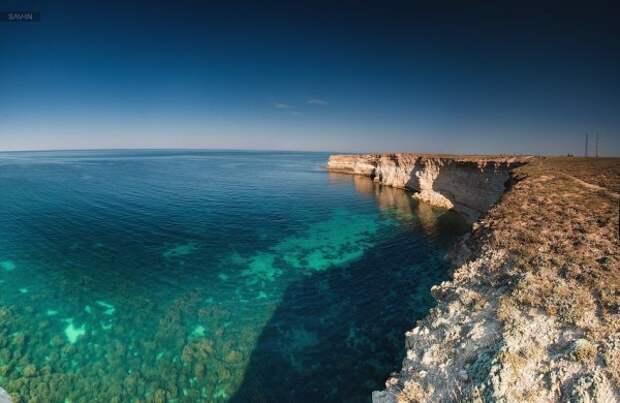 Российские дайверы ищут крымские сокровища