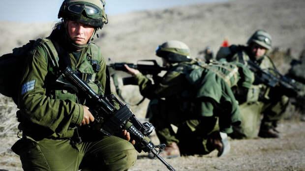 Израильская армия проводит учения по моделированию войны в Газе