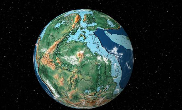 Как выглядела бы Земля сегодня, если бы доисторический суперконтинент не распался: видео