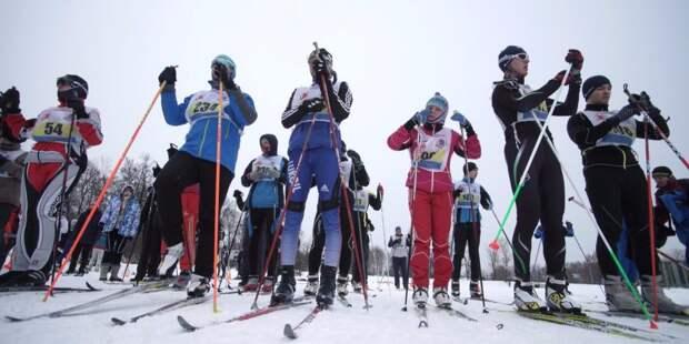 Лыжники из Аэропорта взяли «золото» в двух спартакиадах