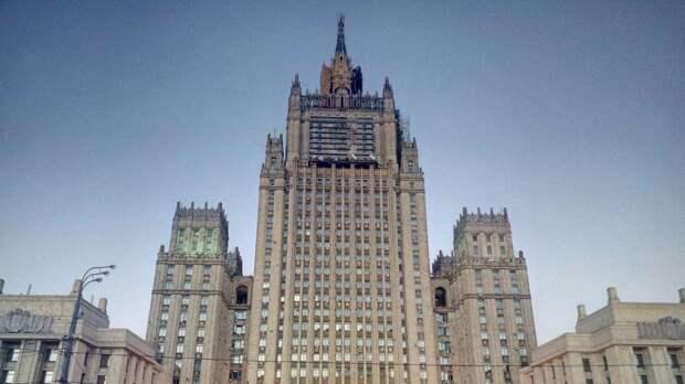 В МИД России назвали Крым «любимыми граблями» Евросоюза