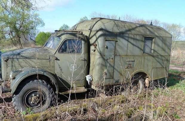 Реставрация автомобиля ГАЗ-63