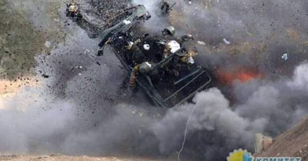 В зоне конфликта на Донбассе убит подполковник ВСУ