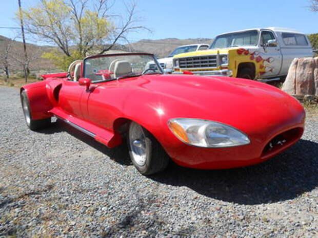 Шокирующая оригинальность: обезображенный Jaguar выставлен на продажу