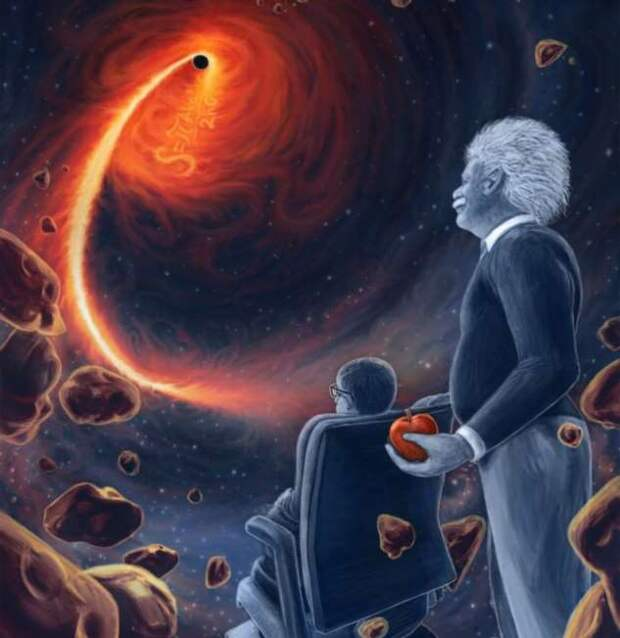 Последние рассуждения Стивена Хокинга о Боге и Вселенной (2 фото)