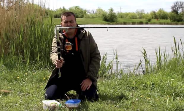 Хитрая удочка: ловит рыбу сама