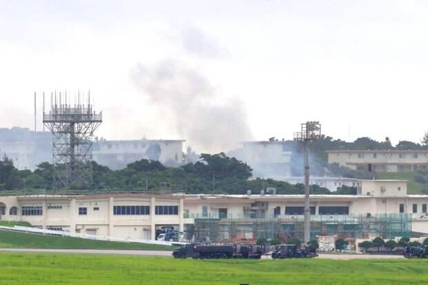 Истребители и вертолеты ВВС США сильно пострадали при землетрясении в Японии