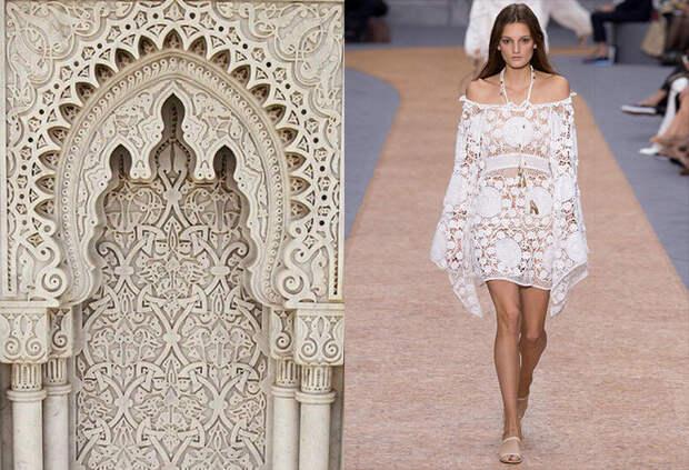 Близость взаимоотношений моды и архитектуры. Лучшие примеры и тренды
